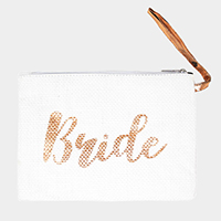 'Bride' Pouch Bag
