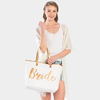 'Bride' Tote Bag