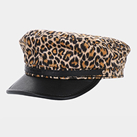Leopard Pattern Boy Hat