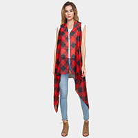 Buffalo Plaid Check Vest