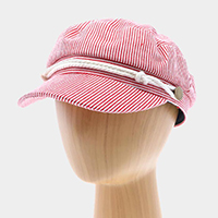 Sailor Stripes Captain Hat