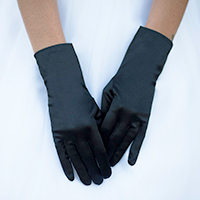 Dressy Satin Wedding Gloves