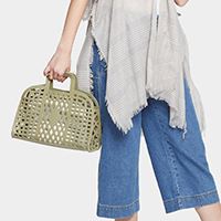 Cut Out Bowler Bag