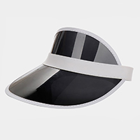 Transparent Fashion Visor Sun Hat