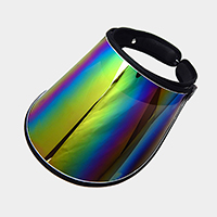 Hologram Fashion Visor Sun Hat