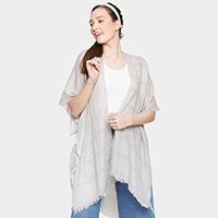 Light Weight Striped Kimono Cardigan