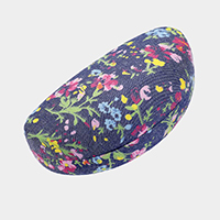 Floral Pattern Shell Eyewear Case