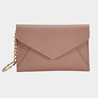 Faux Leather Envelope Card Holder
