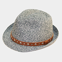 Studded Belt Fedora