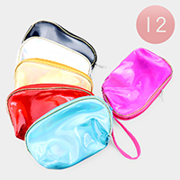 12PCS - Metallic Pouch Bags