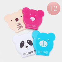 12PCS - Cute Animal Comb Compact Mirror Sets