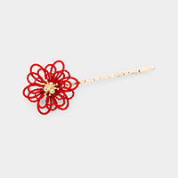 Hollow Flower Bobby Pin