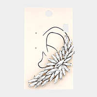 Angel Wing Ear Cuff Clip On Earrings