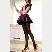 Jacquard Pantyhose Tights