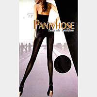Jacquard Line Detail Pantyhose Tights