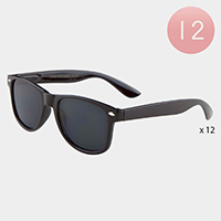 12PCS -Kids Basic Wayfarer Sunglasses