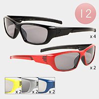 12PCS - Rectangle Kids Sunglasses