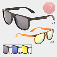 12PCS - Wayfarer Kids Sunglasses