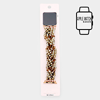 Apple Watch Pre-Layered Bead Stretch Strap Band