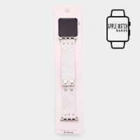 Apple Watch Faux  Leather Strap Band