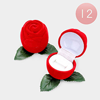 12PCS - Rose Ring Cases