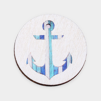 Watercolor Anchor Print Self Adhesive Charm for Phone Holder