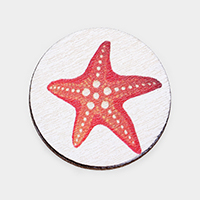 Watercolor Starfish  Self Adhesive Charm for Phone Holder