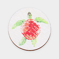 Watercolor Turtle Print Self Adhesive Charm for Phone Holder
