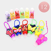Hand Sanitizer With Colorful Silicone Butterfly Holder