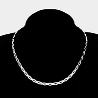 Twist Knot Metal Open Choker Necklace
