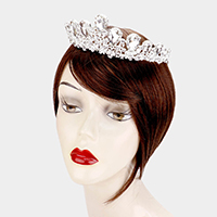 Elegant Teardrop Crystal Princess Tiara