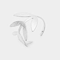 Sprout Leaf Open Ring