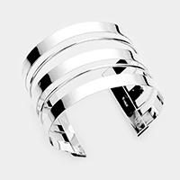 Split Layer Cuff Bracelet