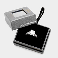 Cubic Zirconia Eternal Love Ring