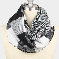 Buffalo Check Double Side infinity Scarf