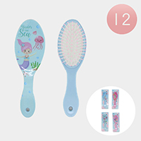 12PCS - Under the Sea Hair Brushes
