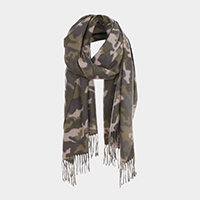 Military Camouflage Pattern Scarf