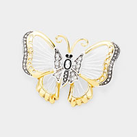 Metal Butterfly Brooch / Pendant