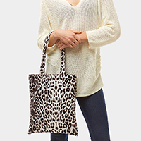 Animal Pattern Print Tote Bag