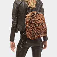 Animal Pattern Print Backpack