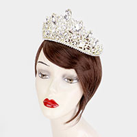 Crystal Marquise Rhinestone Pageant Queen Tiara