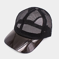 Transparent Brim Trucker Hat
