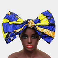 Elastic Oversized Bow Headband