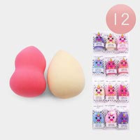12PCS - Blending Makeup Sponges