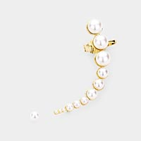 2PCS - Pearl Ear Cuff Earrings