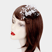 Clear Bead Branch Vine Hair Comb