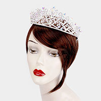Heart Rhinestone Crystal Pageant Princess Tiara