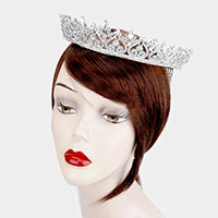 Crystal Rhinestone Marquise Pageant Princess Tiara