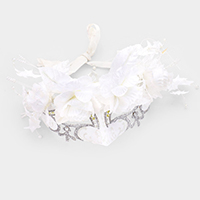 Floral Angel Masquerade Eye Mask