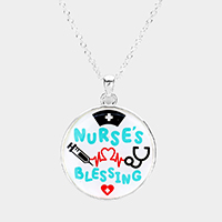 Nurse's Blessing Pendant Necklace